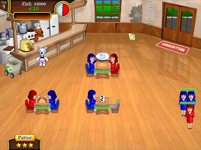 Spiele Screenshot 1 Snowy Lunch Rush