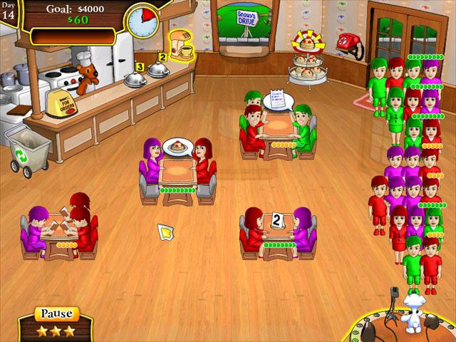 Spiele Screenshot 3 Snowy Lunch Rush