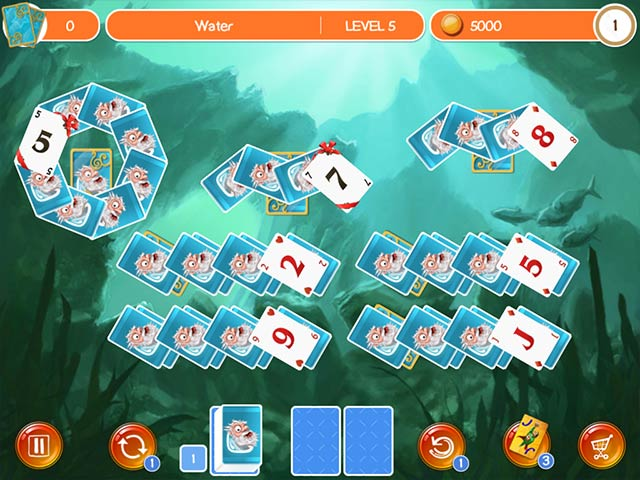 Doodle god solitaire ipad iphone android pc spiel for Big fish solitaire games