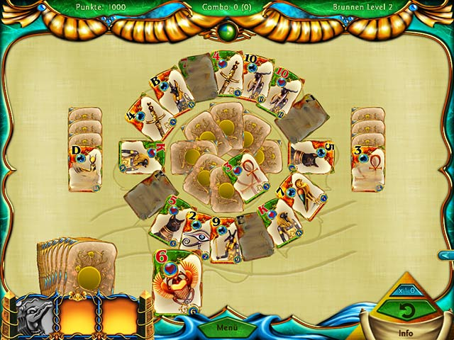 Spiele Screenshot 1 Solitaire Egypt