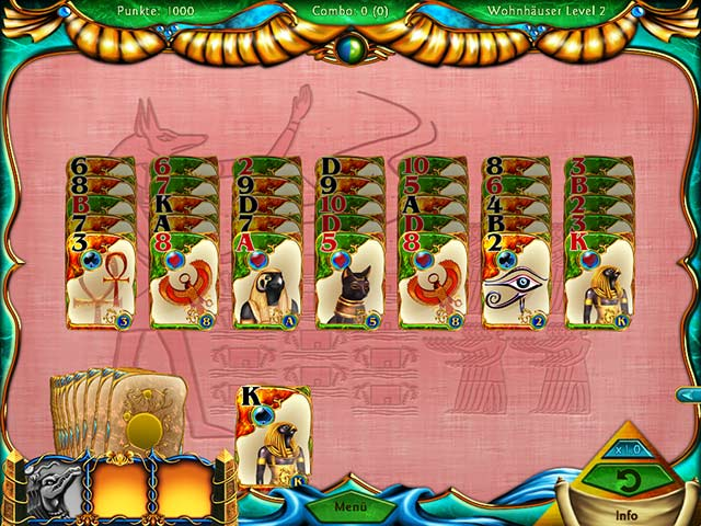 Spiele Screenshot 3 Solitaire Egypt