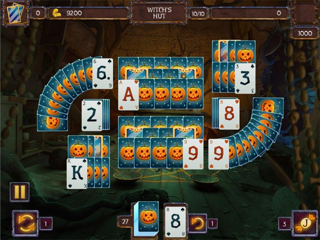 Solitaire halloween ipad iphone android pc spiel for Big fish solitaire games