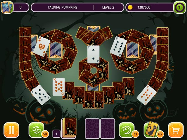 Solitaire Halloween Story img