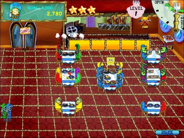 Spiele Screenshot 1 SpongeBob SquarePants Diner Dash