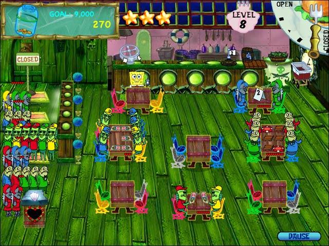 Spiele Screenshot 3 SpongeBob SquarePants Diner Dash
