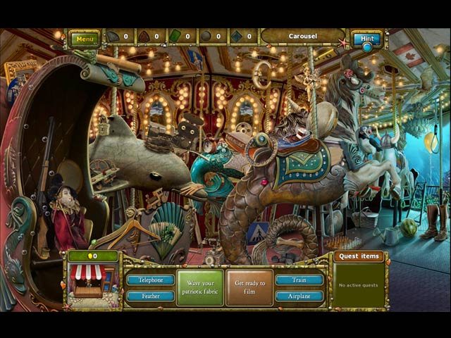 Spiele Screenshot 1 Tales of Lagoona 2: Poseidon Park in Gefahr
