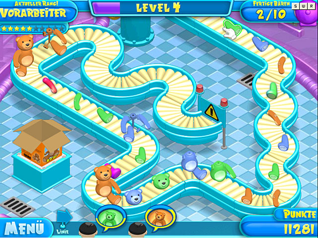 Spiele Screenshot 1 Teddy Factory
