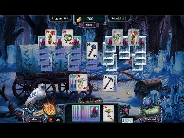 Spiele Screenshot 1 Ferne Königreiche - Wintersolitaire