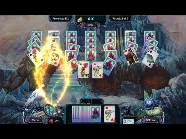 Spiele Screenshot 2 Ferne Königreiche - Wintersolitaire