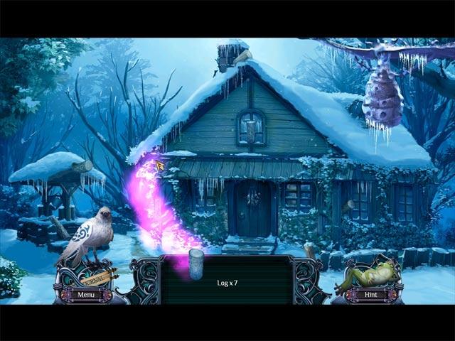 Spiele Screenshot 3 Ferne Königreiche - Wintersolitaire