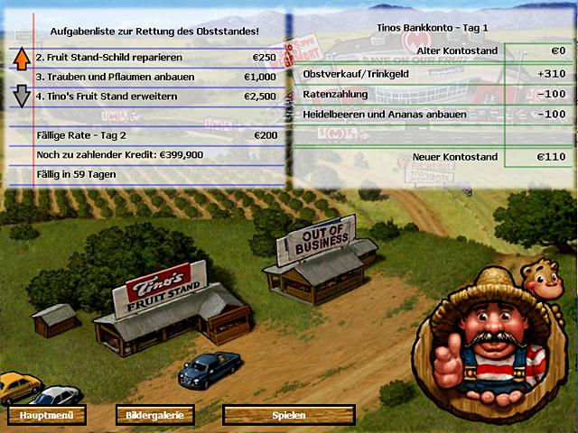 Spiele Screenshot 1 Tino's Fruit Stand