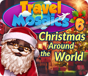 Feature- Screenshot Spiel Travel Mosaics 6: Christmas Around The World