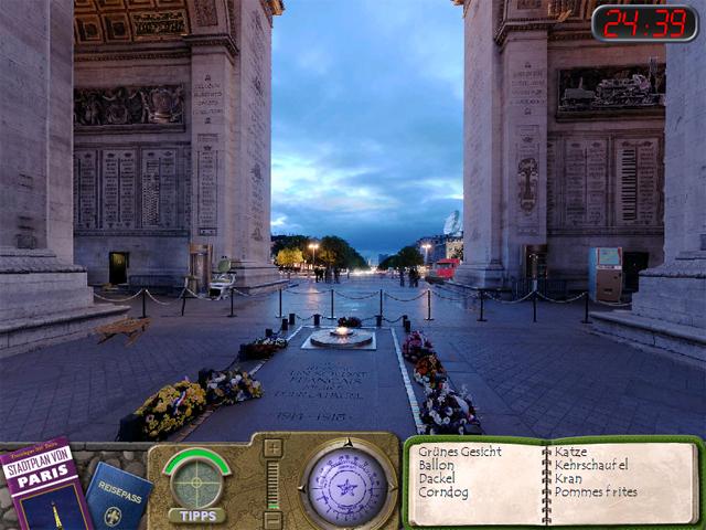 Play Travelogue Paris at All Games Free
