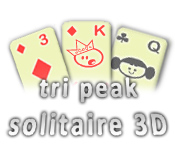 Feature- Screenshot Spiel Tri Peak Solitaire 3D