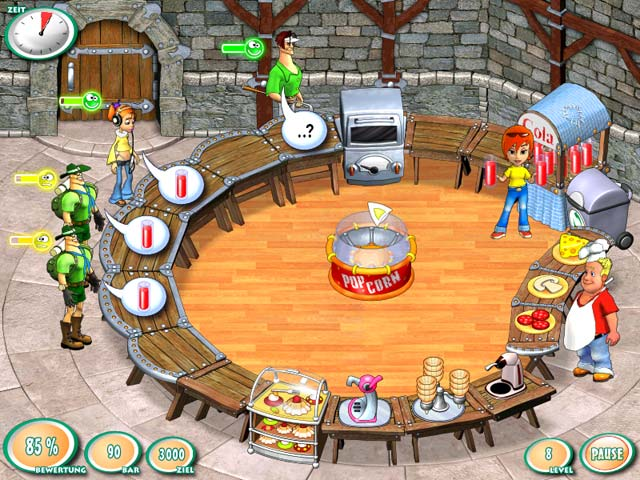 Spiele Screenshot 1 Turbo Pizza