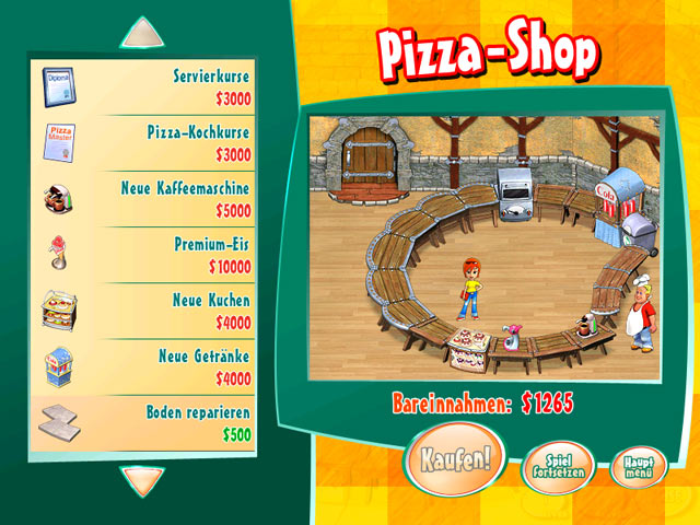 Spiele Screenshot 2 Turbo Pizza