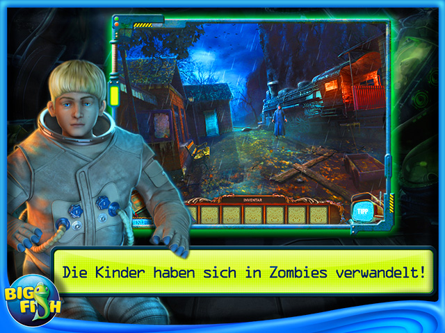 Screenshot für Verbotene Geheimnisse: Alien Town Sammleredition