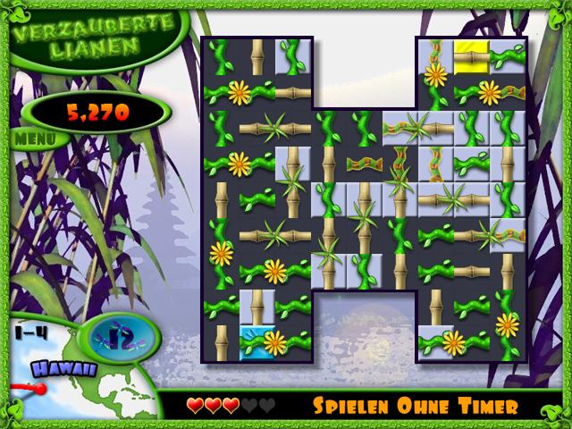 Spiele Screenshot 1 Verzauberte Lianen
