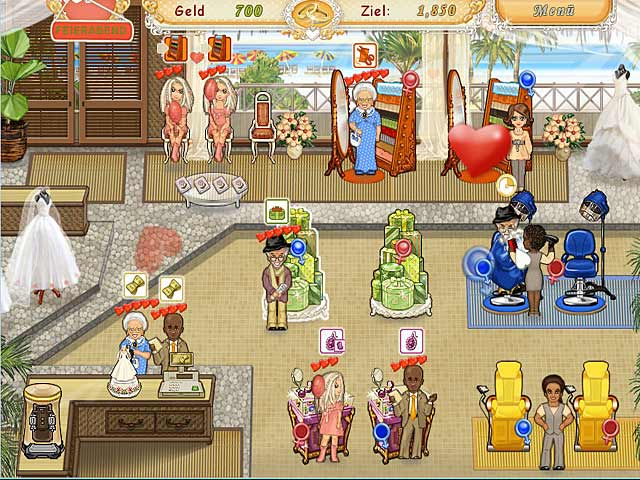Spiele Screenshot 2 Wedding Salon