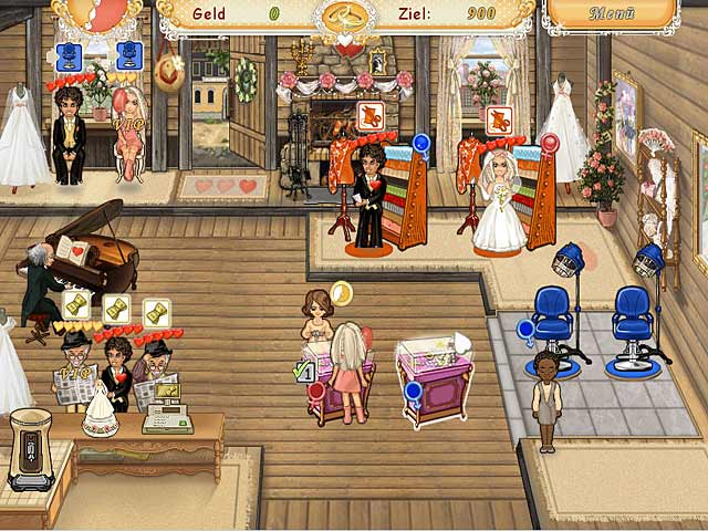 Spiele Screenshot 3 Wedding Salon