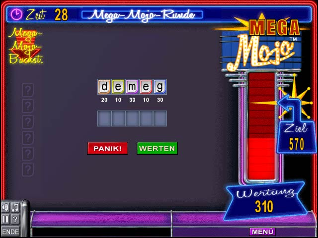 Spiele Screenshot 2 Word Mojo Gold