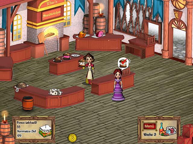 Spiele Screenshot 1 Ye Olde Sandwich Shoppe