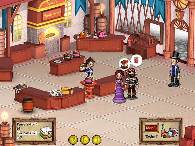 Spiele Screenshot 2 Ye Olde Sandwich Shoppe