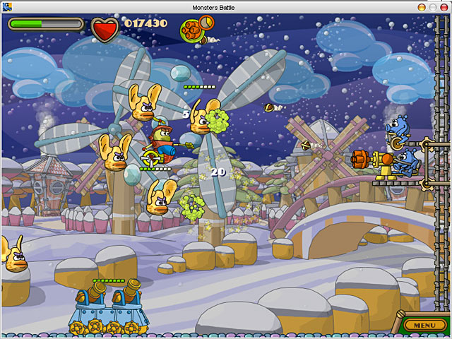 Spiele Screenshot 1 Zack & Jack in Showdown at Monstertown