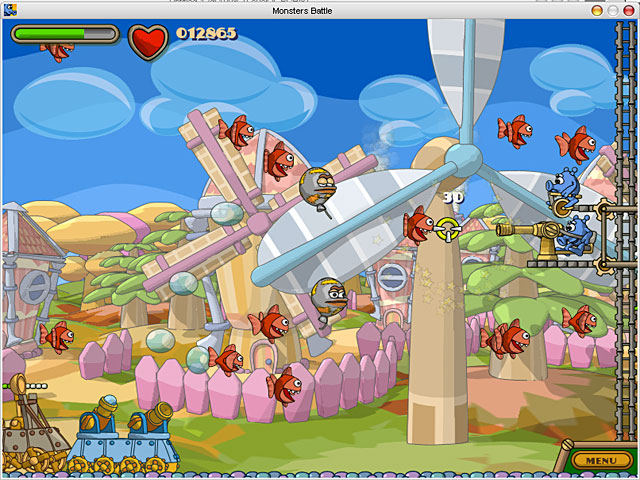 Spiele Screenshot 3 Zack & Jack in Showdown at Monstertown