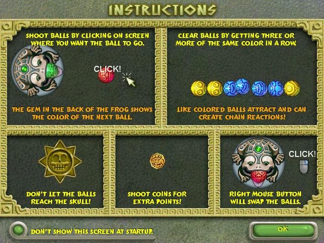 Spiele Screenshot 3 Zuma Deluxe