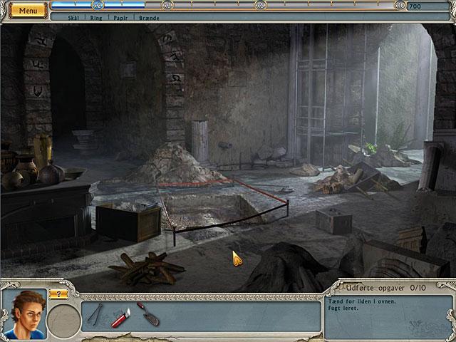 Spil Screenshot 1 Alabama Smith: Flugten fra Pompeji