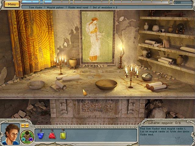 Spil Screenshot 2 Alabama Smith: Flugten fra Pompeji