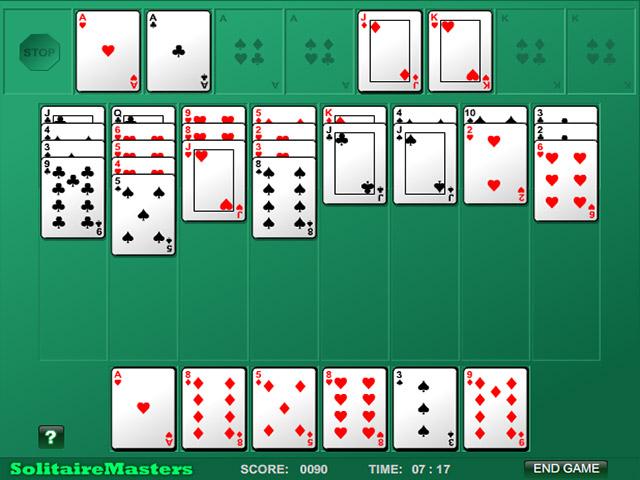 Spil Screenshot 2 Algerian Patience Solitaire
