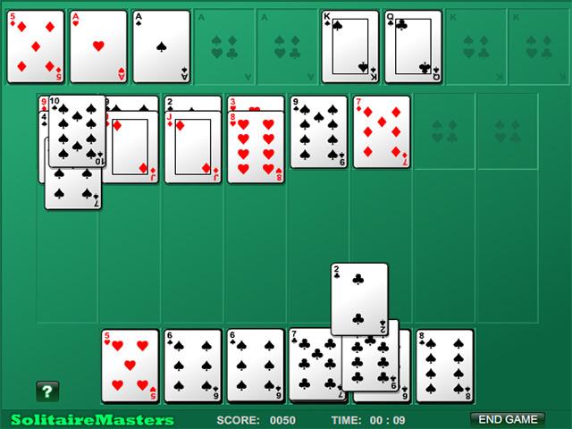 Spil Screenshot 3 Algerian Patience Solitaire