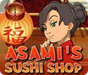 Feature Screenshot Spil Asami's Sushi Shop