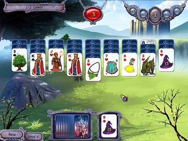 Spil Screenshot 1 Avalon Legends Solitaire