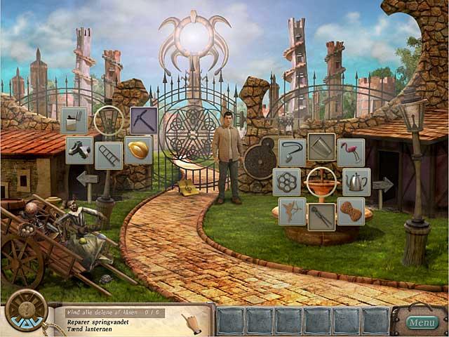 Spil Screenshot 1 Bag spejlet