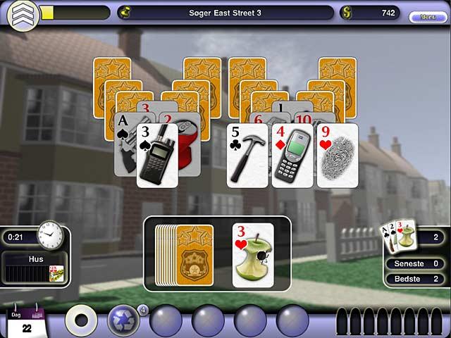 Spil Screenshot 3 Crime Solitaire