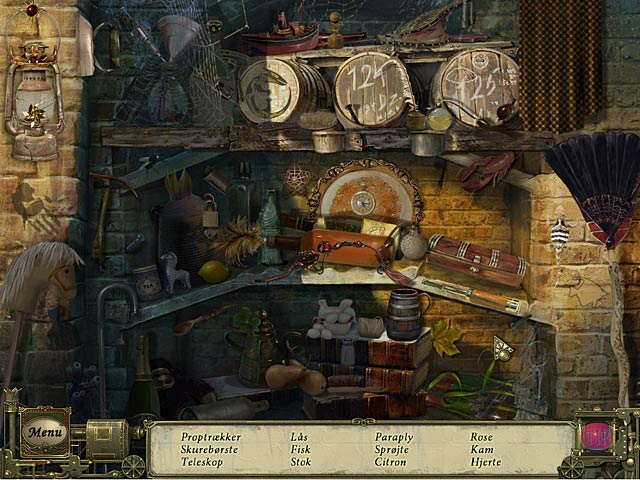 Spil Screenshot 2 Dark Tales: Edgar Allan Poe's Den sorte kat