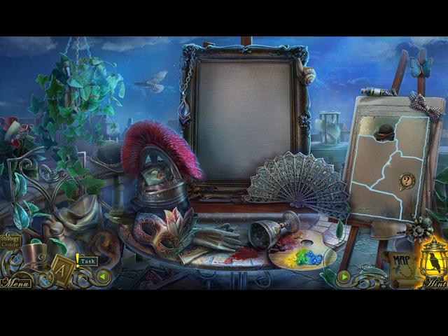 Spil Screenshot 2 Dark Tales: Edgar Allan Poe's The Oval Portrait Collector's Edition