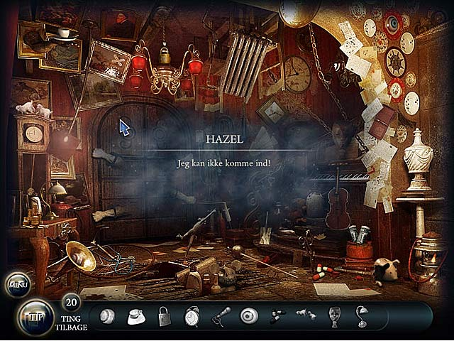 Spil Screenshot 3 Doors of the Mind: Indre Mysterier