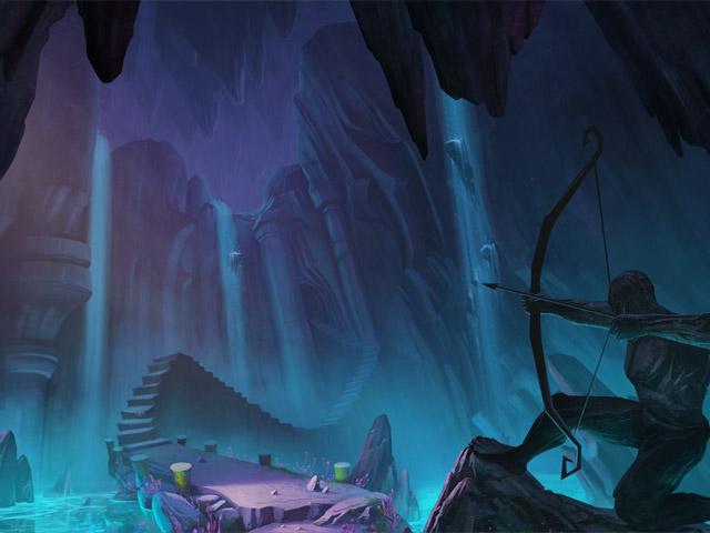 Spil Screenshot 2 Drawn: Skyggernes spor