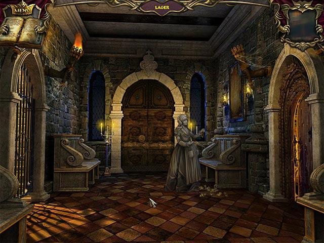 Spil Screenshot 2 Echoes of the Past: Det forstenede kongehus