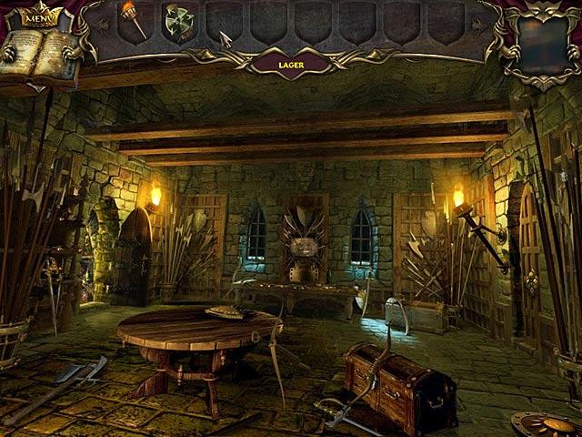 Spil Screenshot 3 Echoes of the Past: Det forstenede kongehus
