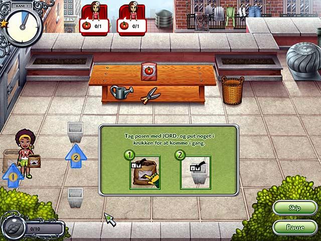 Spil Screenshot 1 Garden Dash