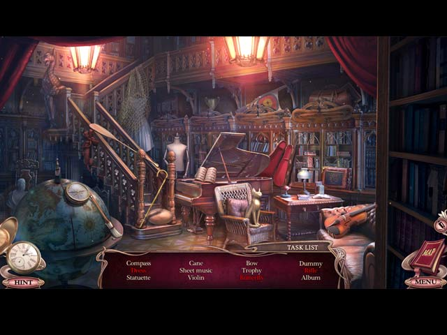 Spil Screenshot 2 Grim Tales: The Time Traveler Collector's Edition
