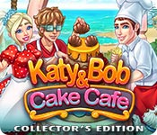 Feature Screenshot Spil Katy and Bob: Cake Cafe Collector's Edition