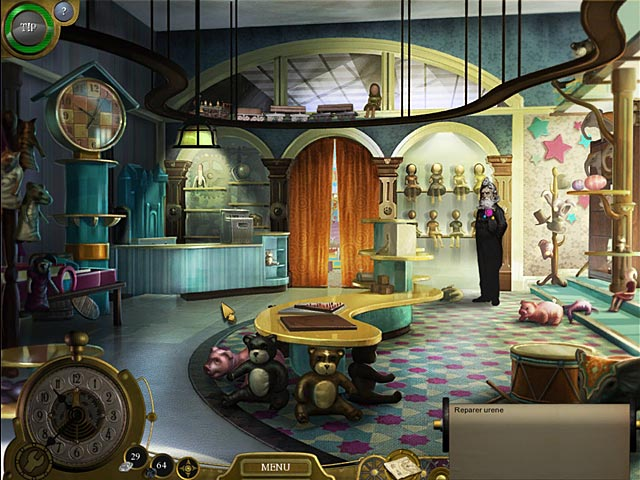 Spil Screenshot 1 Lost in Time: Clockwork Tower