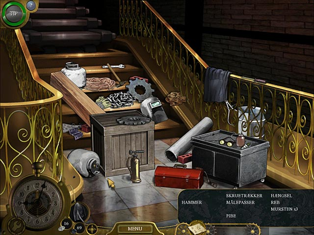 Spil Screenshot 2 Lost in Time: Clockwork Tower