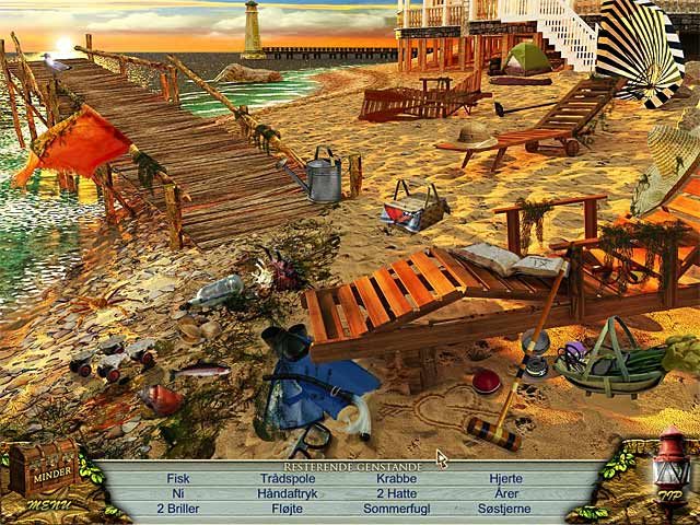 Spil Screenshot 2 Love Story: Strandhytten